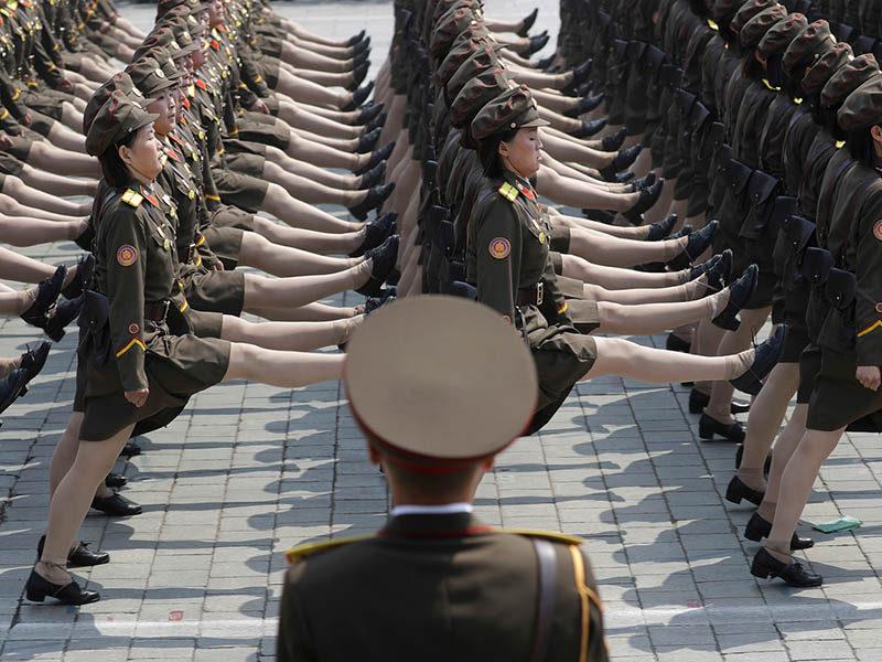 APTOPIX North Korea Founder's Birthday