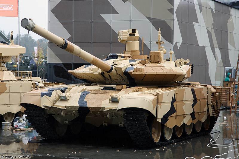 Танк Т90МС