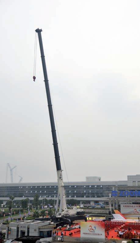 2000 тонный авто кран Zoomlion ZACB01